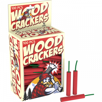 Wood-Crackers, 100er Pack