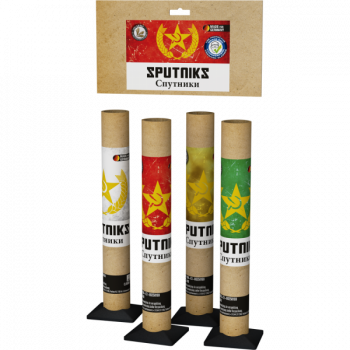 Sputniks, Single-Shots im 4er Pack