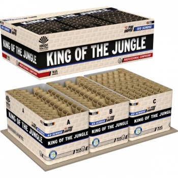 King of The Jungle, 3er Verbundbatterie mit 180 Schuss