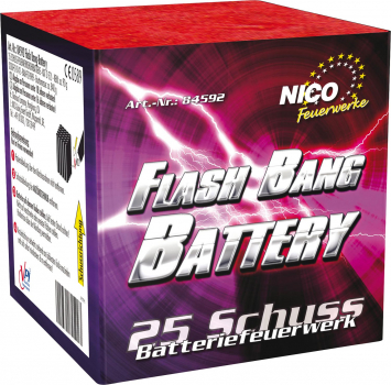 Flash Bang Battery, 25 Schuss