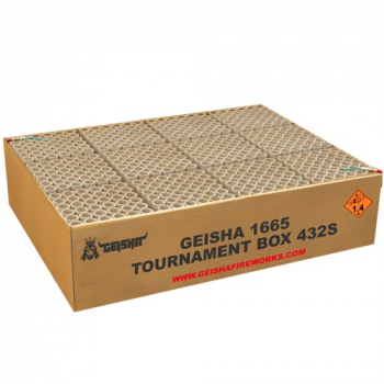 Tournament Box, 12-er Verbund-Batterie mit 432 Schuss