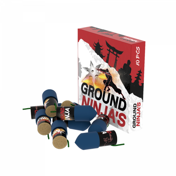 Ground Ninja`s, 10er Schachtel